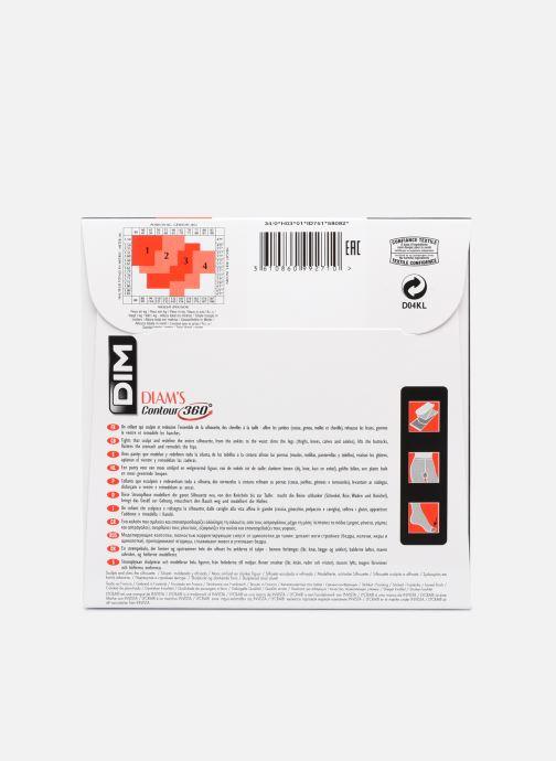 Calze e collant Dim DIAM'S Collant Contour 360° semi-opaque 25D Nero modello indossato