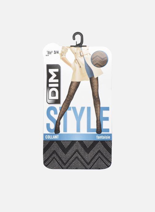 Socken & Strumpfhosen Dim STYLE Collant Chevron Graphique Tulle schwarz detaillierte ansicht/modell