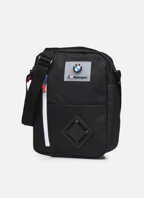 Sacs homme Puma BMW M MTSP Large Portable Noir vue portées chaussures