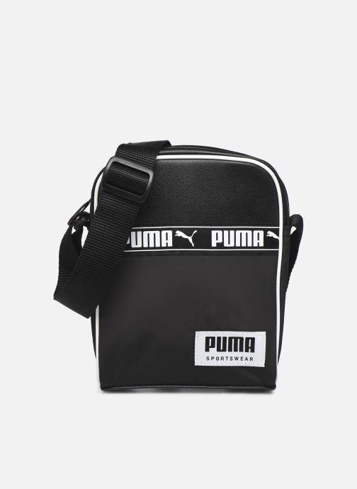 Bolsos de hombre Puma Campus Portable Negro vista de detalle / par