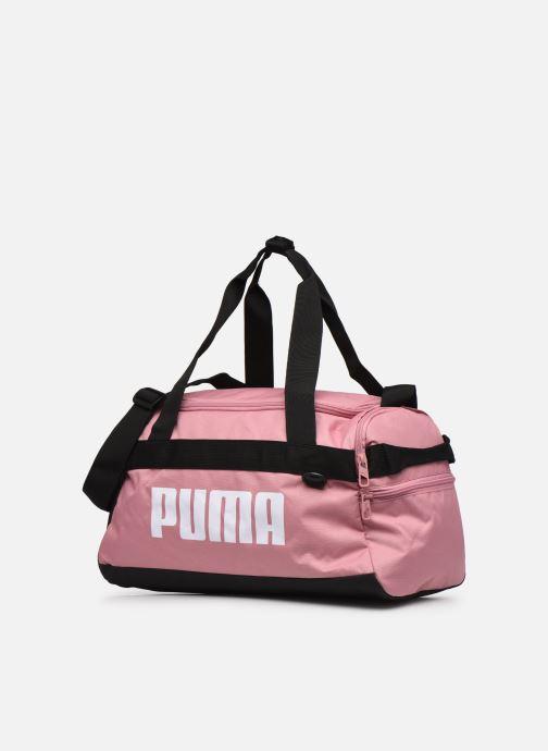 Borsa da palestra Puma Challenger Duffel Bag XS Rosa modello indossato