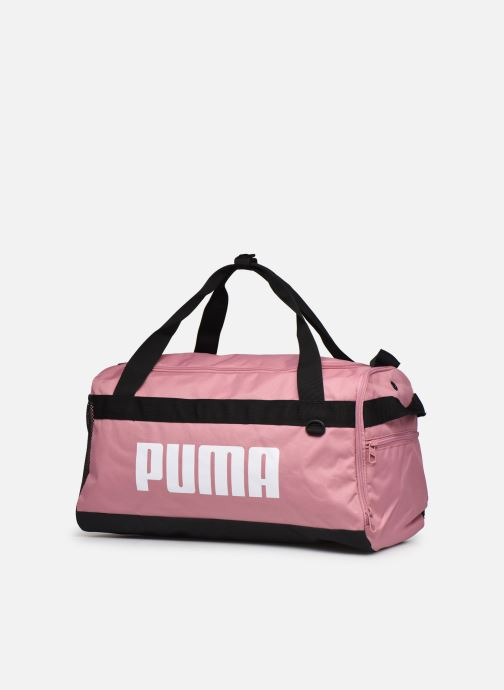 Borsa da palestra Puma Challenger Duffel Bag S Rosa modello indossato