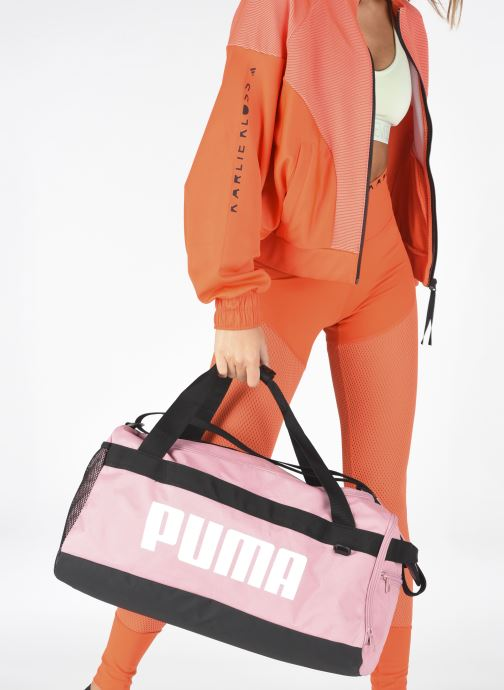 Sporttaschen Puma Challenger Duffel Bag S rosa ansicht von unten / tasche getragen