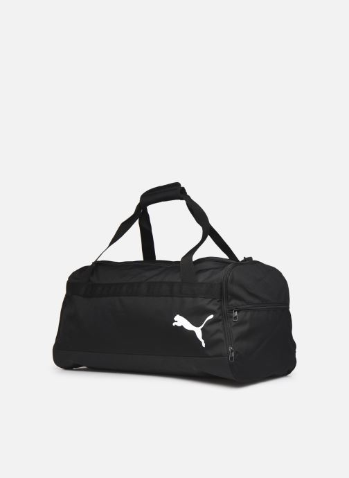 Borsa da palestra Puma Goal Medium Bag Nero modello indossato
