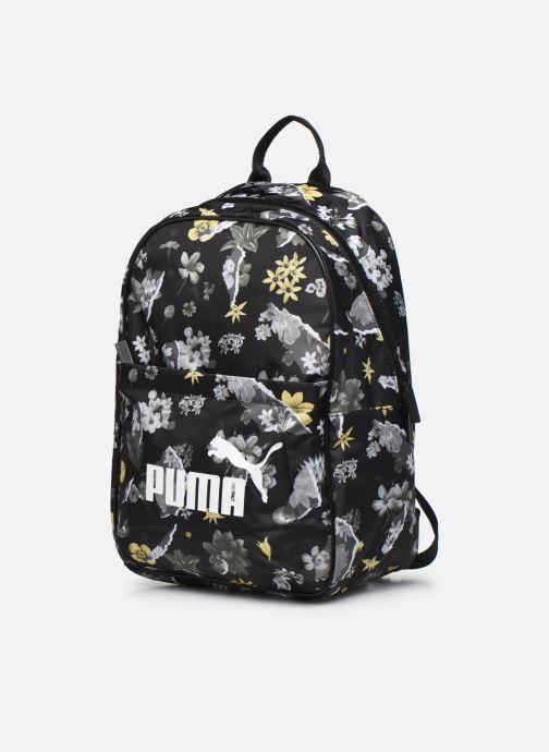 Rucksäcke Puma WMN Core Seasonal Backpack schwarz schuhe getragen