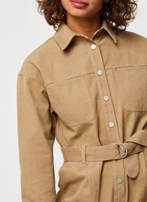 Vêtements The Korner 20299006 Beige vue face