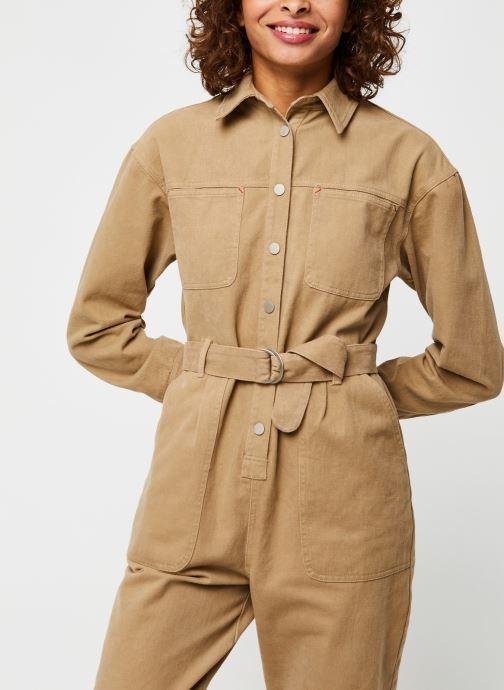 Vêtements The Korner 20299006 Beige vue droite