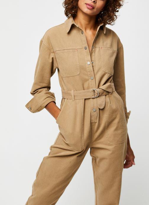 Vêtements The Korner 20299006 Beige vue détail/paire