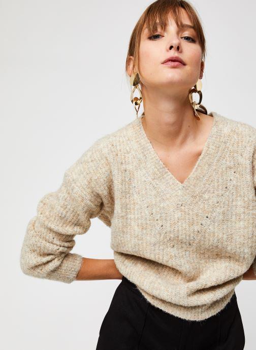 Vêtements The Korner 20203308 Beige vue détail/paire