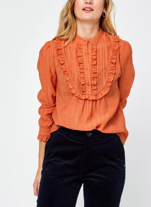 Vêtements The Korner 20219080 Orange vue détail/paire