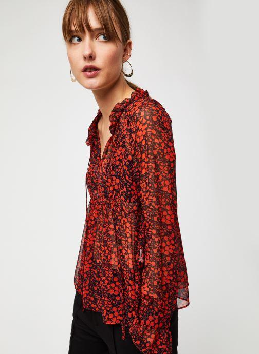 Vêtements The Korner 20216027 Orange vue droite