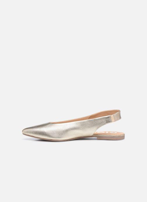 Ballerinas Gioseppo HOLDEN gold/bronze ansicht von vorne