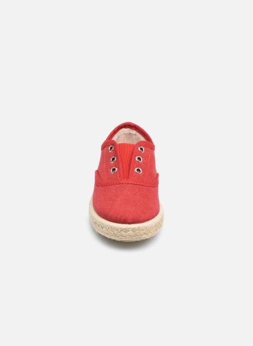 Sneakers Gioseppo SALSES Rosso modello indossato