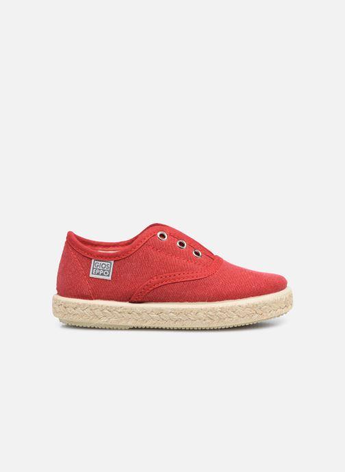 Sneaker Gioseppo SALSES rot ansicht von hinten