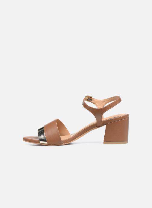 Sandali e scarpe aperte Gioseppo ERICEIRA Marrone immagine frontale