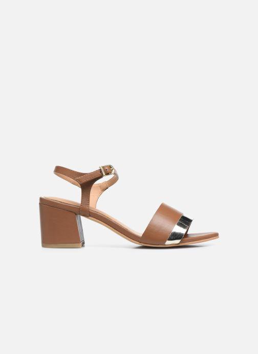 Sandali e scarpe aperte Gioseppo ERICEIRA Marrone immagine posteriore
