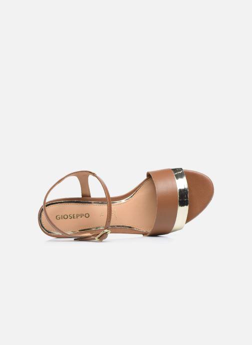 Sandali e scarpe aperte Gioseppo ERICEIRA Marrone immagine sinistra