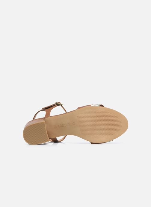 Sandales et nu-pieds Gioseppo ERICEIRA Marron vue haut