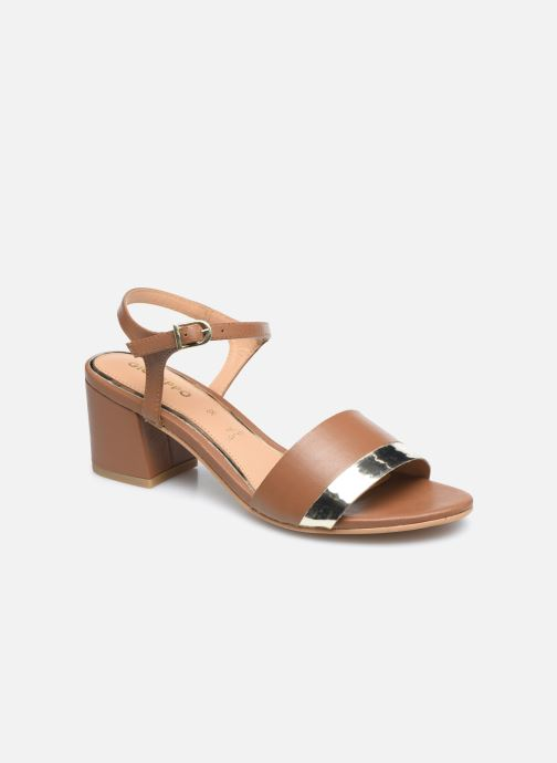 Sandales et nu-pieds Gioseppo ERICEIRA Marron vue détail/paire