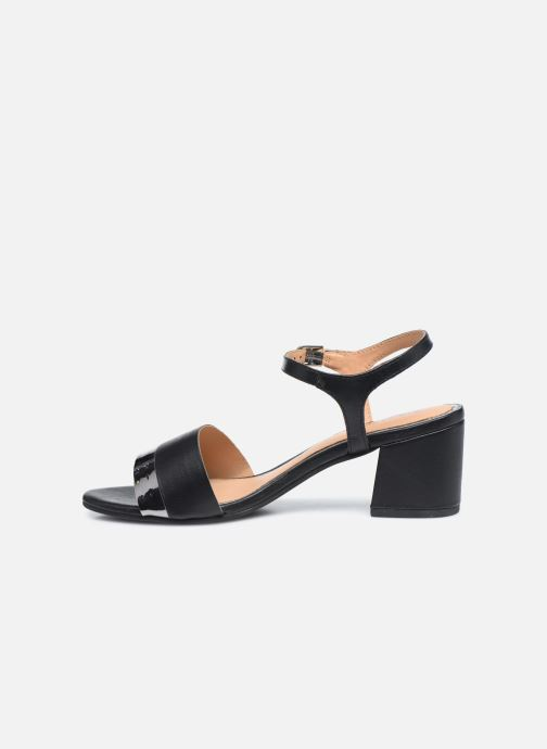 Sandales et nu-pieds Gioseppo ERICEIRA Noir vue face