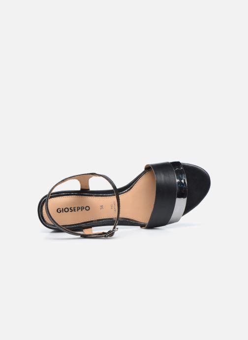Sandales et nu-pieds Gioseppo ERICEIRA Noir vue gauche