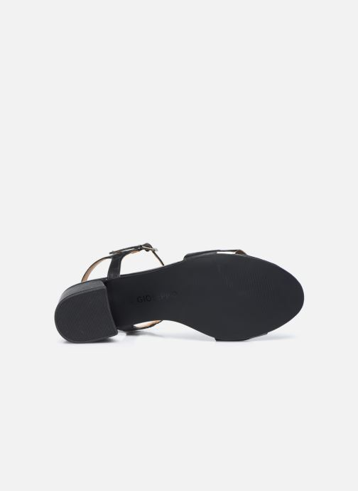 Sandales et nu-pieds Gioseppo ERICEIRA Noir vue haut