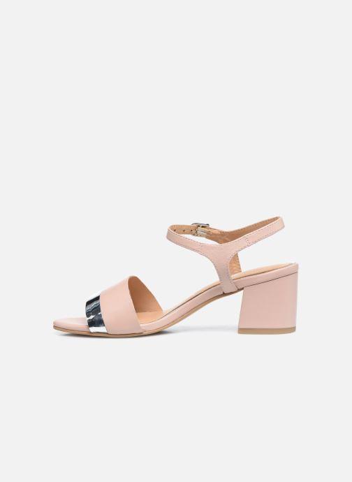 Sandales et nu-pieds Gioseppo ERICEIRA Rose vue face
