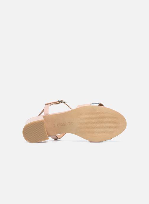 Sandales et nu-pieds Gioseppo ERICEIRA Rose vue haut