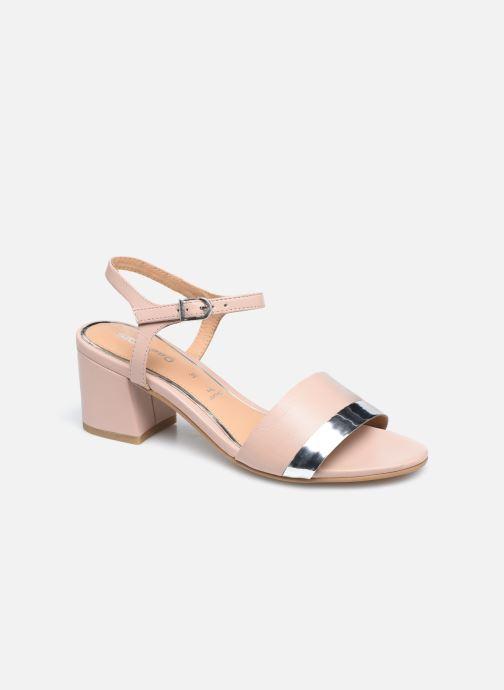 Sandales et nu-pieds Gioseppo ERICEIRA Rose vue détail/paire