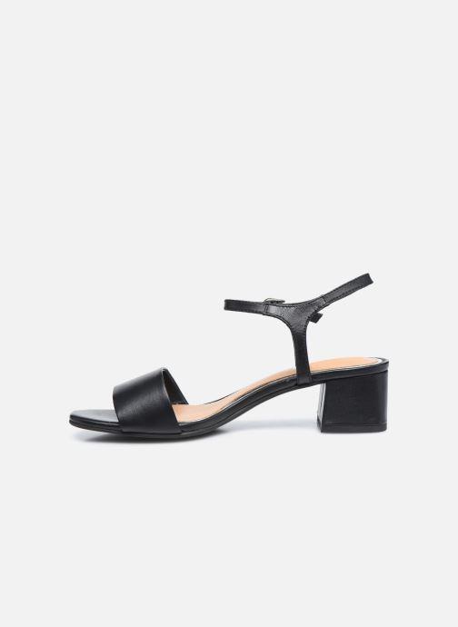 Sandalen Gioseppo SARLAT schwarz ansicht von vorne