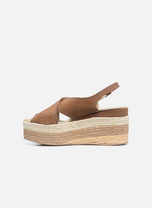Sandales et nu-pieds Gioseppo MARSTON Marron vue face