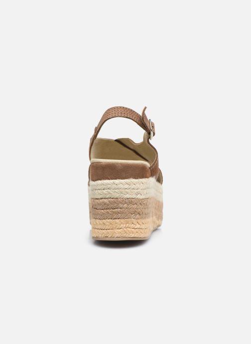 Sandales et nu-pieds Gioseppo MARSTON Marron vue droite