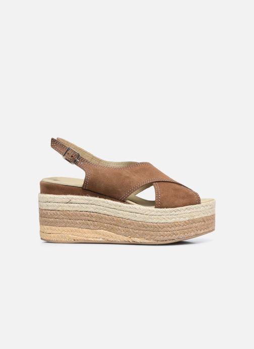 Sandales et nu-pieds Gioseppo MARSTON Marron vue derrière