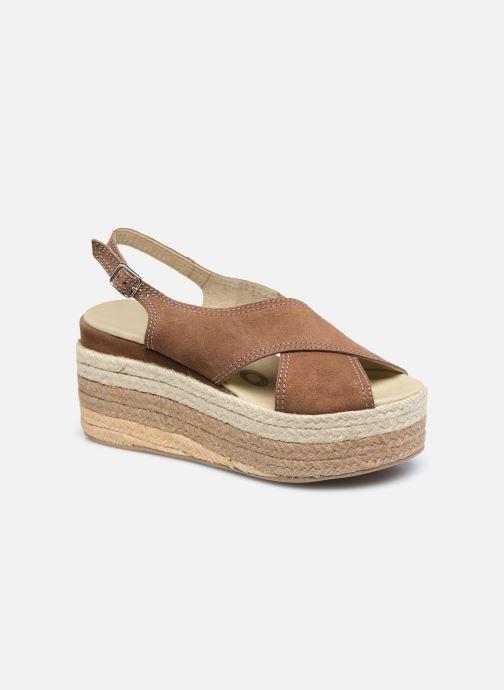 Sandales et nu-pieds Gioseppo MARSTON Marron vue détail/paire