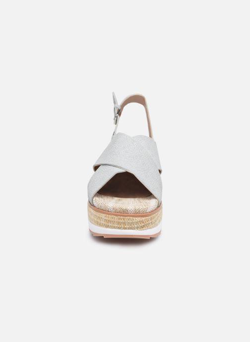 Sandalen Gioseppo RUSSI blau schuhe getragen