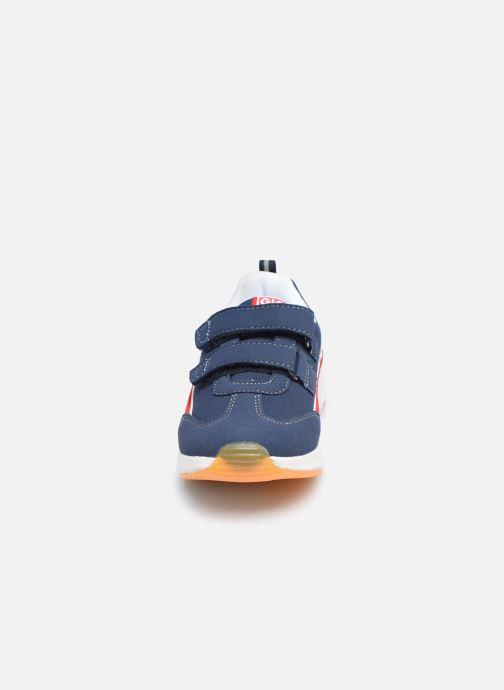Baskets Gioseppo VISERBA Bleu vue portées chaussures