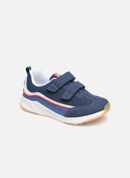 Baskets Gioseppo VISERBA Bleu vue détail/paire