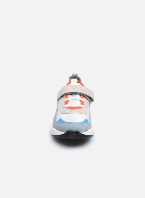 Baskets Gioseppo HAMOIS Multicolore vue portées chaussures