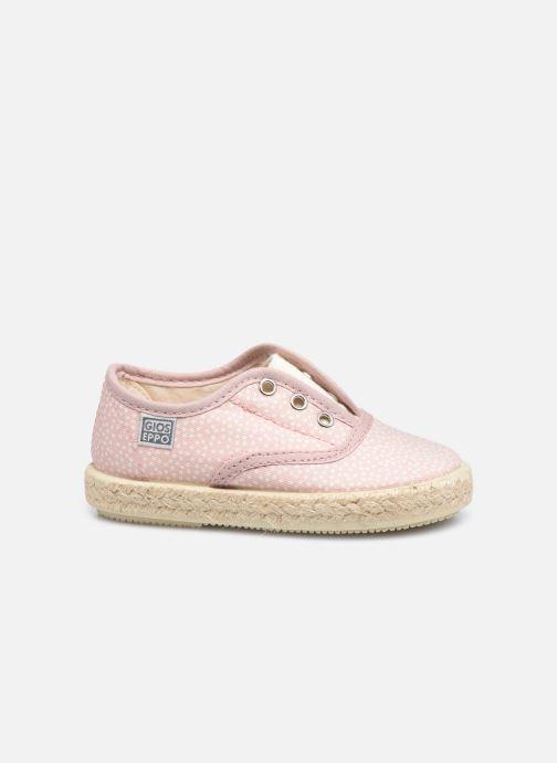 Sneakers Gioseppo MAZAMET Roze achterkant