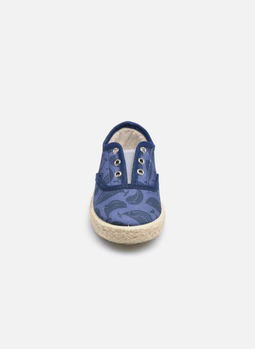 Baskets Gioseppo MATHIEU Bleu vue portées chaussures
