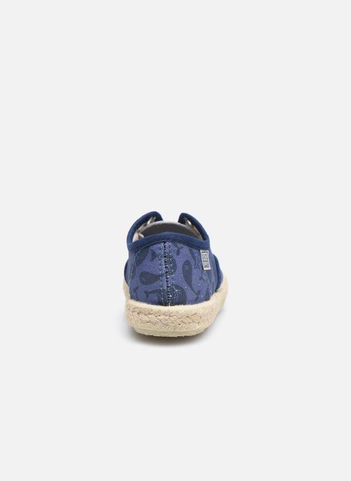 Baskets Gioseppo MATHIEU Bleu vue droite