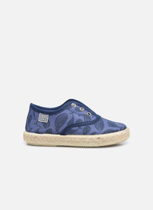 Sneaker Gioseppo MATHIEU blau ansicht von hinten