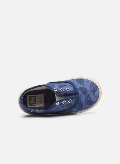Sneaker Gioseppo MATHIEU blau ansicht von links