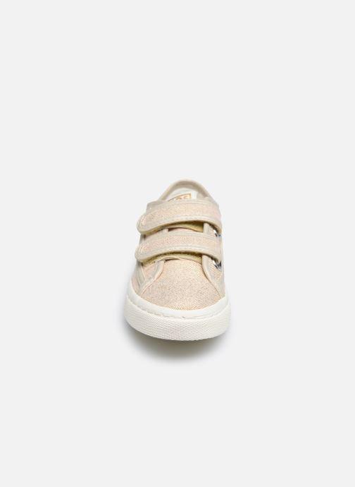 Sneaker Gioseppo OMEGNA gold/bronze schuhe getragen