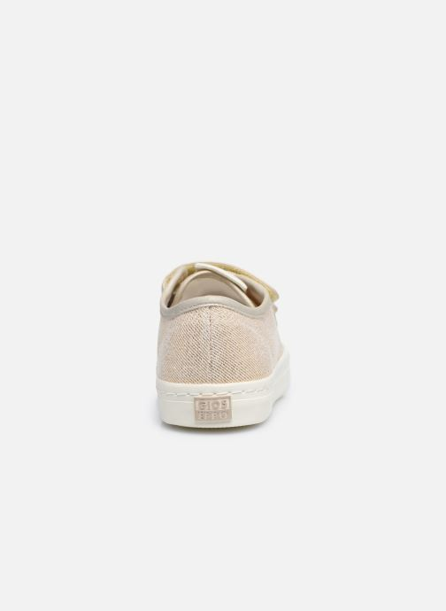 Sneaker Gioseppo OMEGNA gold/bronze ansicht von rechts