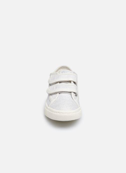 Sneaker Gioseppo OMEGNA silber schuhe getragen