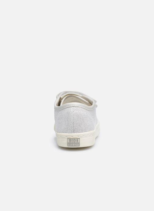 Sneaker Gioseppo OMEGNA silber ansicht von rechts