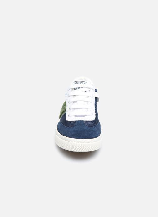 Sneaker Gioseppo BAKER blau schuhe getragen