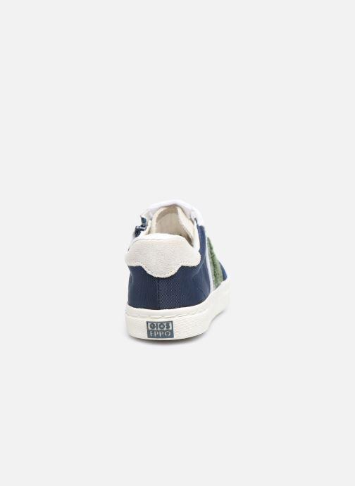 Sneaker Gioseppo BAKER blau ansicht von rechts