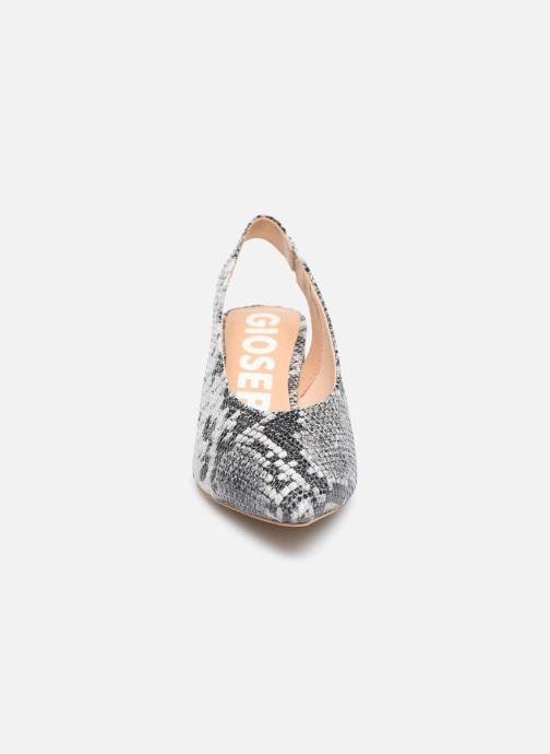 Escarpins Gioseppo WILNA Gris vue portées chaussures